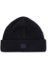 dunkelblaue Mütze von Acne Studios