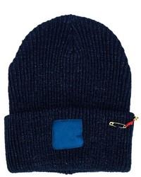 dunkelblaue Mütze von Blue Blue Japan