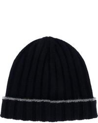 dunkelblaue Mütze von Brunello Cucinelli