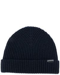 dunkelblaue Mütze von Burberry