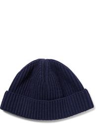 dunkelblaue Mütze von Lanvin