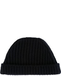 dunkelblaue Mütze von Marni