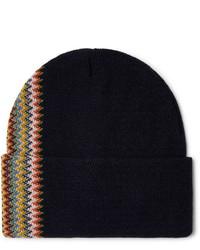 dunkelblaue Mütze von Missoni