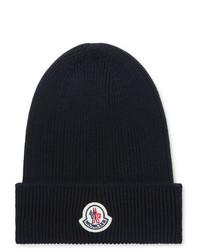dunkelblaue Mütze von Moncler