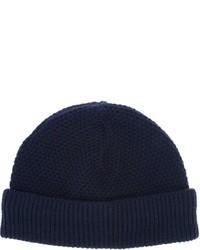dunkelblaue Mütze von Neil Barrett