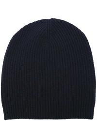 dunkelblaue Mütze von P.A.R.O.S.H.