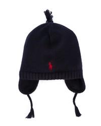 dunkelblaue Mütze von Ralph Lauren