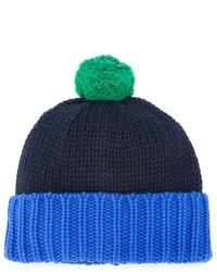 dunkelblaue Mütze von Stella McCartney
