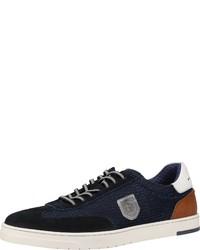 dunkelblaue niedrige Sneakers von Bugatti
