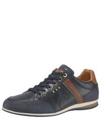 dunkelblaue niedrige Sneakers von Pantofola D'oro