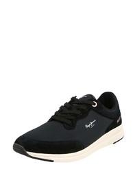 dunkelblaue niedrige Sneakers von Pepe Jeans