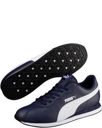 dunkelblaue niedrige Sneakers von Puma