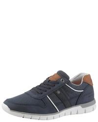 dunkelblaue niedrige Sneakers von Tom Tailor