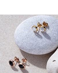 dunkelblaue Ohrringe von Leonardo Jewels