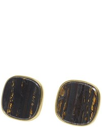 dunkelblaue Ohrringe von Wouters & Hendrix