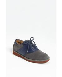 dunkelblaue Oxford Schuhe