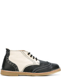 dunkelblaue Oxford Schuhe von Henrik Vibskov