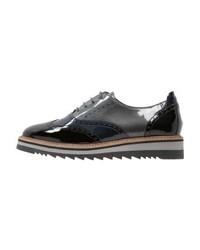 Dunkelblaue Oxford Schuhe von Pier One