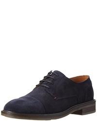 dunkelblaue Oxford Schuhe von Tommy Hilfiger