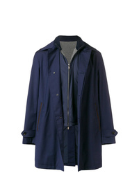 dunkelblaue Regenjacke von Ermenegildo Zegna