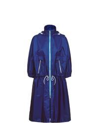 dunkelblaue Regenjacke von Prada
