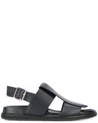 dunkelblaue Sandalen von Marni