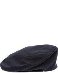 dunkelblaue Schiebermütze von Dondup