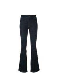 dunkelblaue Schlagjeans von Givenchy