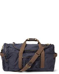 dunkelblaue Segeltuch Reisetasche von J.Crew