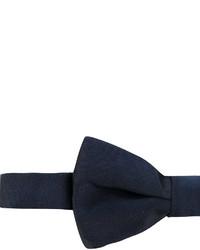 dunkelblaue Seidefliege von Valentino