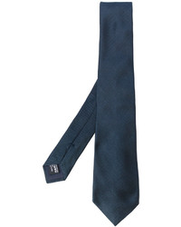 dunkelblaue Seidekrawatte von Giorgio Armani