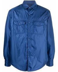 dunkelblaue Shirtjacke von Aspesi