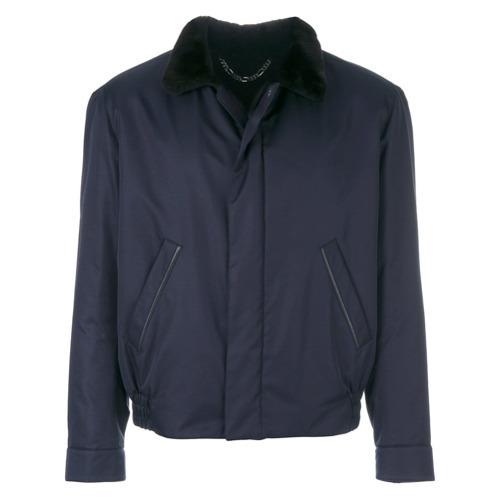 dunkelblaue Shirtjacke von Brioni