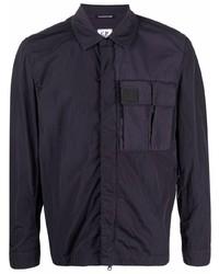 dunkelblaue Shirtjacke von C.P. Company