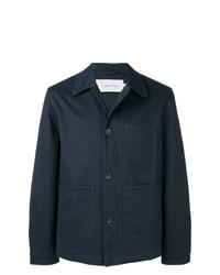 dunkelblaue Shirtjacke von Calvin Klein