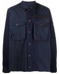 dunkelblaue Shirtjacke von Diesel