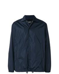 dunkelblaue Shirtjacke von DSQUARED2