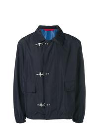 dunkelblaue Shirtjacke von Fay
