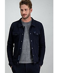 dunkelblaue Shirtjacke von GARCIA