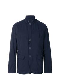 dunkelblaue Shirtjacke von Herno