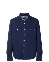 dunkelblaue Shirtjacke von Jacob Cohen