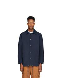 dunkelblaue Shirtjacke von Kenzo