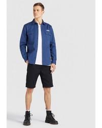 dunkelblaue Shirtjacke von khujo