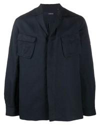 dunkelblaue Shirtjacke von Lardini