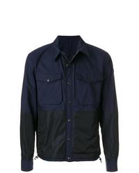 dunkelblaue Shirtjacke von Moncler