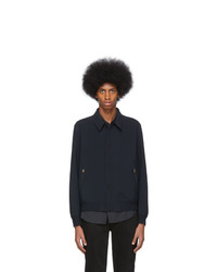 dunkelblaue Shirtjacke von Paul Smith