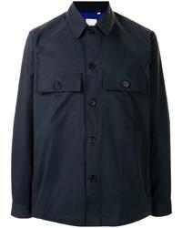 dunkelblaue Shirtjacke von Paul Smith