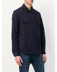 dunkelblaue Shirtjacke von Ps By Paul Smith