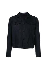 dunkelblaue Shirtjacke von Tagliatore