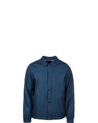 dunkelblaue Shirtjacke von Urban Classics